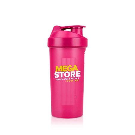 Coqueteleira rosa (700ml) - Mega Store Suplementos