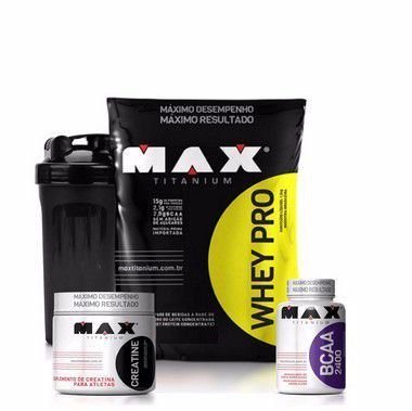 COMBO WHEY PRO (1,5KG) - MAX TITANIUM