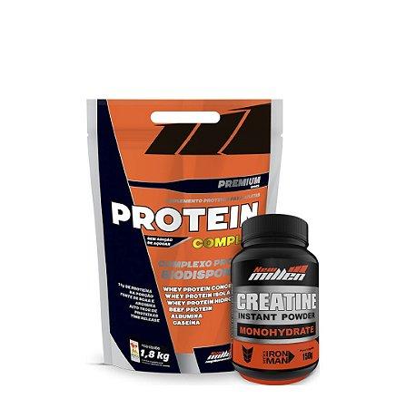 Protein Complex (1,8kg) + (Crea 150g) - New Millen