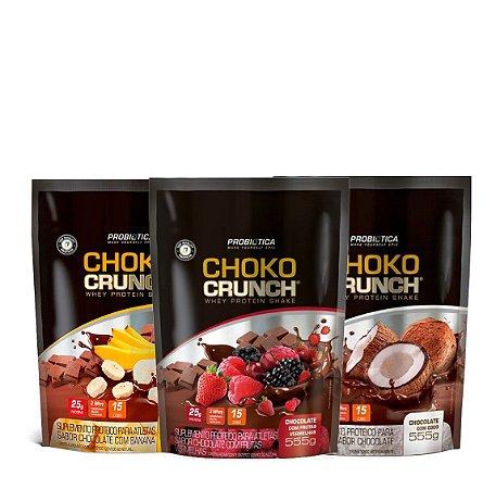 3x Choko Crunch (555g cada) - Probiótica