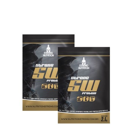 2x Strong 5w (2,1Kg cada) - Strong Nutrition