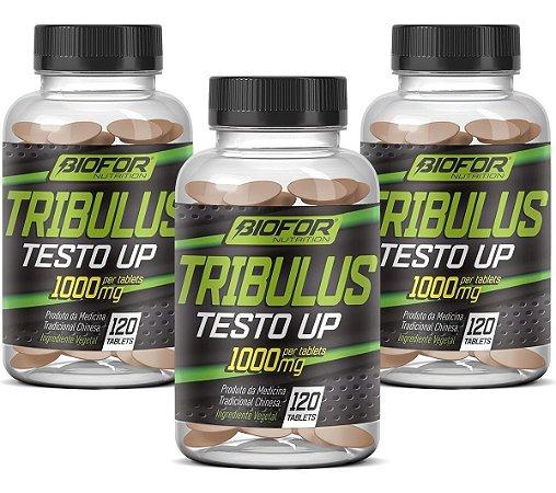 3x Tribulus terrestris - 120 tablets - 1000 mg