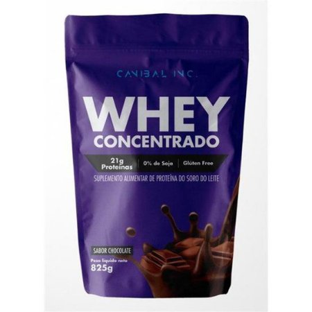Whey Concentrado Canibal Banana- 825g