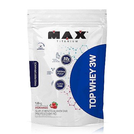 TOP WHEY 3W (1,8kg) - MAX TITANIUM