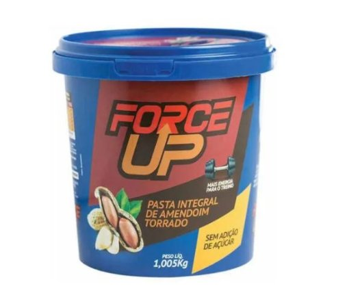 Pasta De Amendoim Torrado Tradicional 1005g - Force Up
