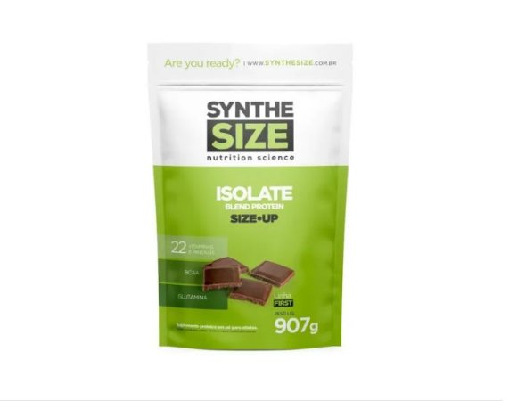 SIZE UP ISOLATE BLEND PROTEIN 907G - REFIL -  Chocolate