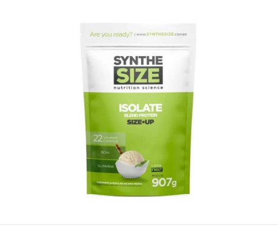 SIZE UP ISOLATE BLEND PROTEIN 907G - REFIL - BAUNILHA