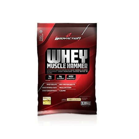 Whey Muscle Hammer - (900g) Body Action