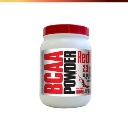 BCAA Powder (600g) pote - RED SERIES
