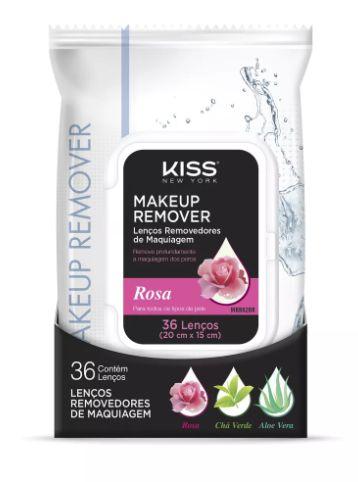 Lenços  Removedor de Maquiagem  - Rosa c/36
