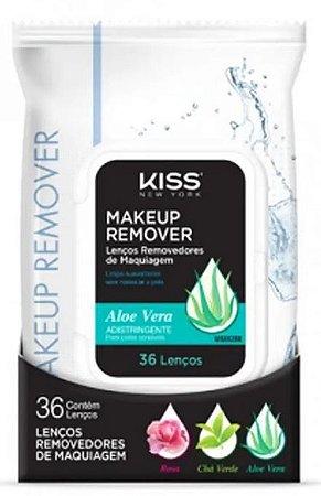 Lenços  Removedor de Maquiagem - Aloe Vera c/36