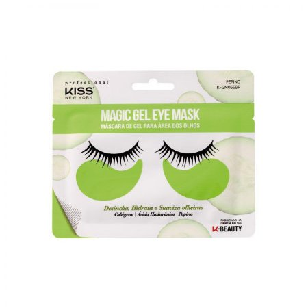 MASCARA DE OLHOS PRO MAGIC GEL - RK BY KISS