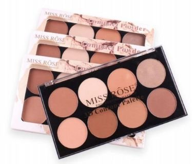 PÓ CONTORNO - COMPACT POWDER  - MISS ROSE