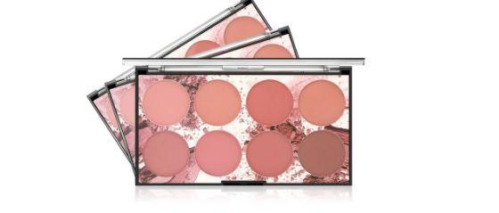 Blush Palette Cheek Blush Baked face Contour Blush - Miss Rose 8 cores