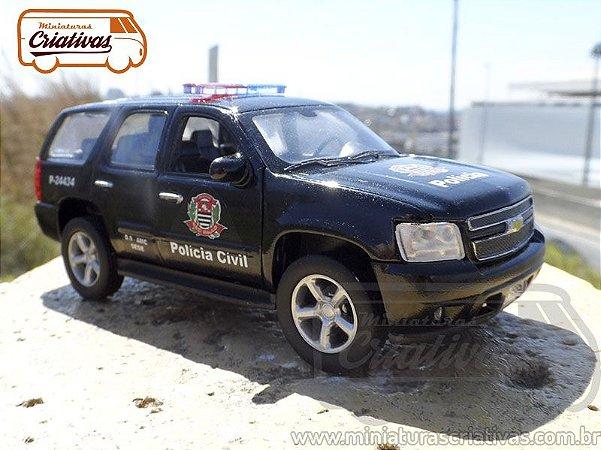 Chevrolet Blazer Tahoe - Policia Civil
