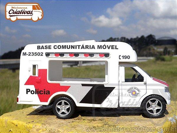 Base Comunitária Móvel PMSP Polícia Militar