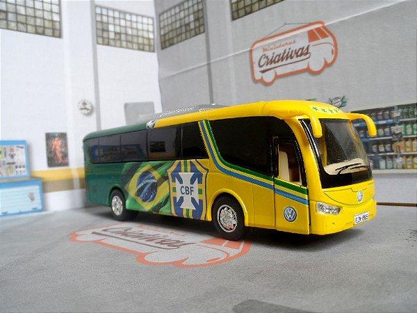 Oferta - Ônibus Da Seleção Brasileira Time de Futebol (em metal)