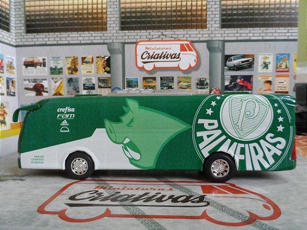 Ônibus Do Palmeiras Porcão Em Metal Time De Futebol