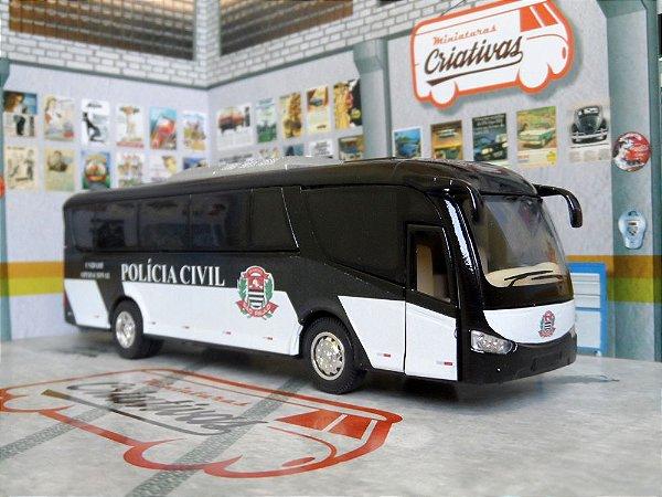 Oferta - Ônibus da Polícia Civil - Em Metal