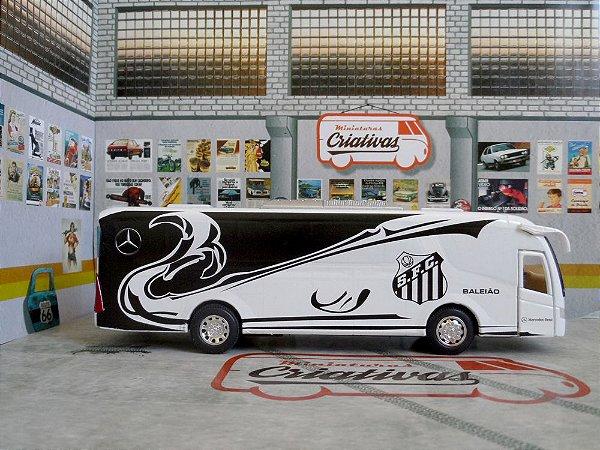 Oferta - Ônibus Santos Baleião - Time De Futebol - Em Metal