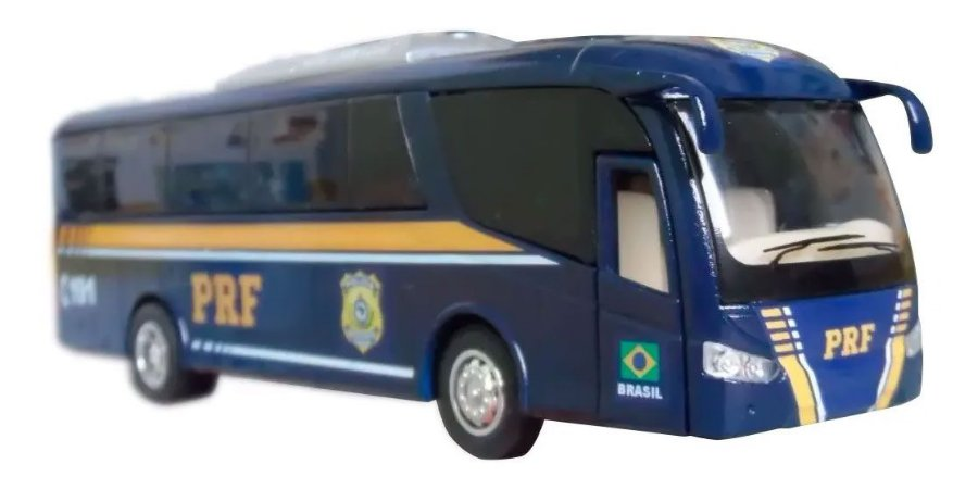 Oferta - miniatura Ônibus Polícia Rodoviária Federal Prf