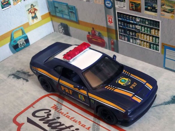 Oferta - miniatura Viatura Dodge Challenge Prf Rodoviária Federal