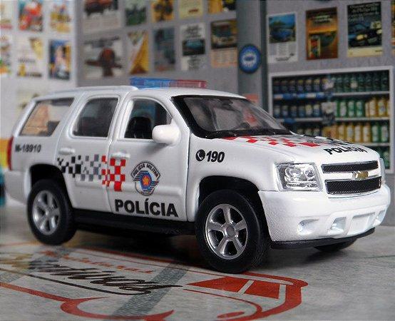 Oferta - miniatura Chevrolet Tahoe Polícia Militar Pm Sp - Atual