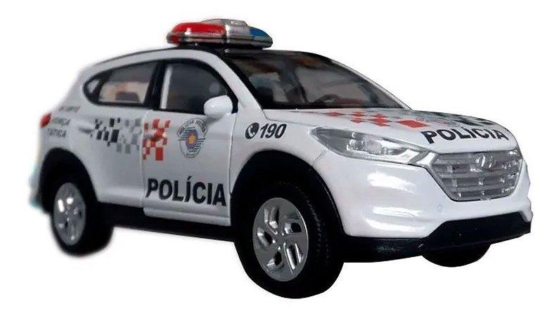 Oferta - miniatura Tucson Polícia Militar Pm Sp Atual - Em Metal