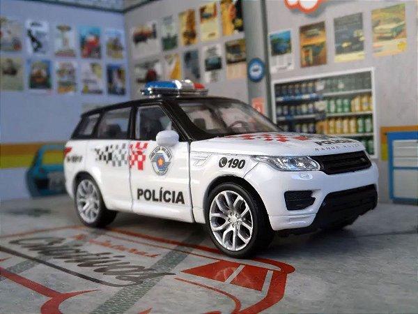 Oferta - miniatura Range Rover Sport Polícia Militar Pm Sp - Atual