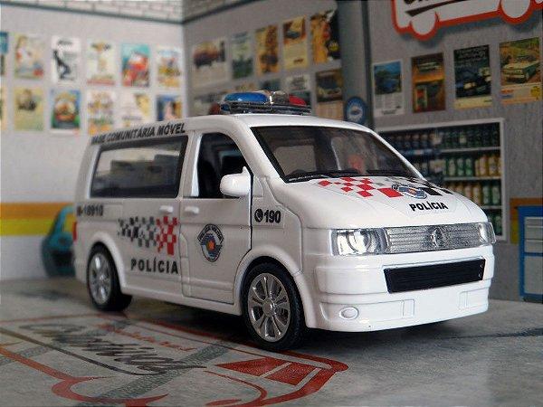 Oferta - miniatura Base Comunitária Polícia Militar Pm Sp Kombi T6