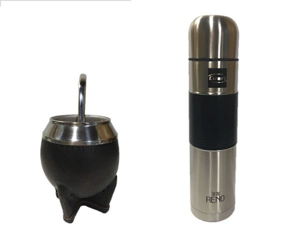 Kit chimarrão Uruguaio Cuia torpedo