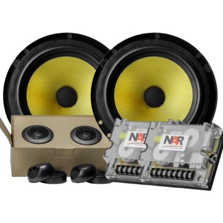 Falante Kit 2 Vias Nar Audio Cs3-600 6 Polegadas 120rms Som