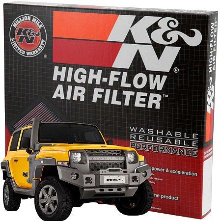 Filtro De Ar Esportivo K&n Troller T4 2.8 3.0 3.2 Re-0880