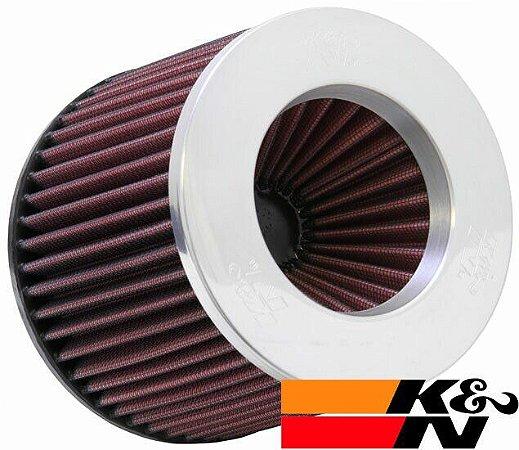 Filtro De Ar Esportivo K&N Duplo Fluxo RR3003 Polido - Original