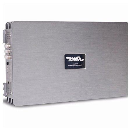 Módulo Amplificador 5 Canais Sound Magus H-500 4x130+1x500W Rms
