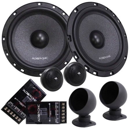 Kit 2 Vias Falante Audiophonic Club 6 Polegadas 160w Rms KC6.3