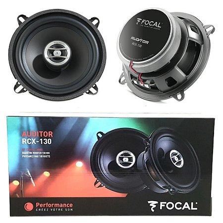 Kit Falante Coaxial Focal Rcx-130 Auditor 5 Polegadas 50w Rms
