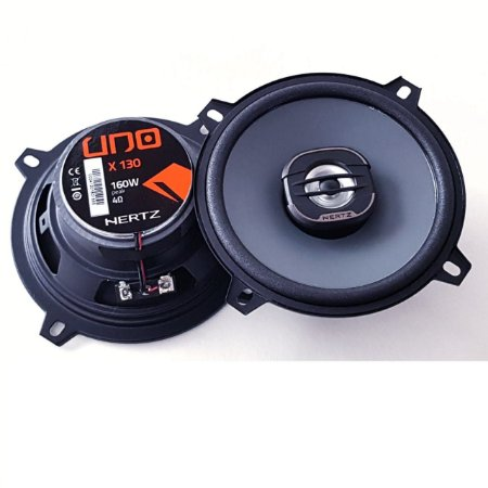 Falante Kit Coaxial Hertz X130 5 Pol 80w Rms Som Automotivo