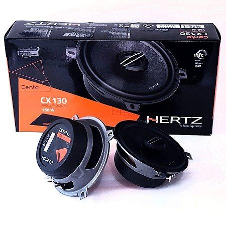 Alto Falante Kit Coaxial Hertz Cento Cx130 5 Polegadas 100rms Som Automotivo