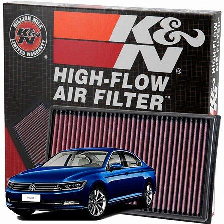 Filtro De Ar Esportivo K&n Inbox Original Passat 2.0 TSI 220cv DE 2016 Em Diante