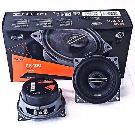 Kit Coaxial Hertz Cento Cx100 4 Pol 80w Rms Som Qualidade