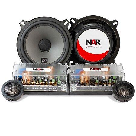 Alto Falante Kit 2 Vias Nar Audio Cs2-525 5 Polegadas 110rms
