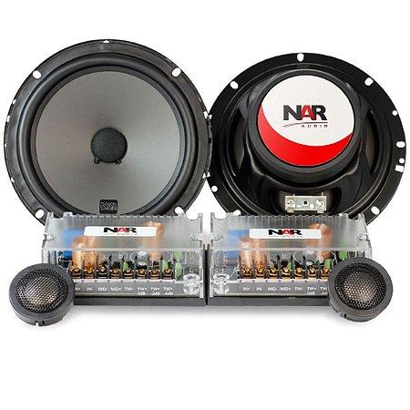 Alto Falante Kit 2 Vias Nar Audio Cs2-600 6 Polegadas 110rms