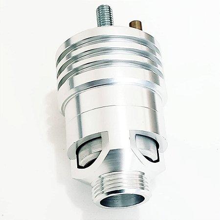Valvula Prioridade Espirro Turbo Aluminio Alta Vazão Cinza