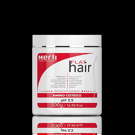 Flat Hair - Máscara - 500g