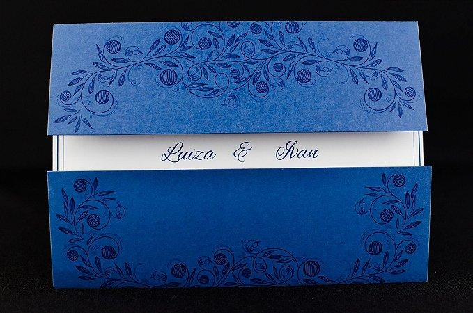 Convites de casamento - Clássico 07