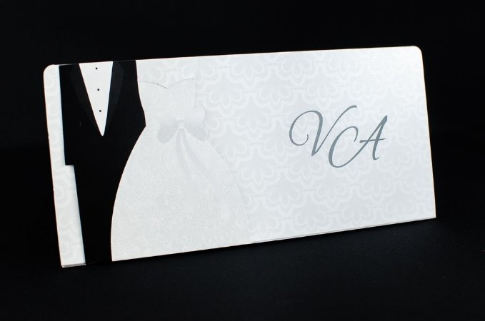 Convites de casamento - Moderno 07