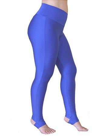 Calça Legging Pezinho Azul Royal