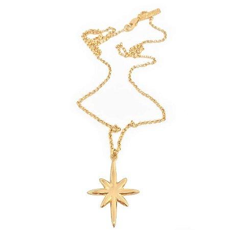 Colar Estrela dourado