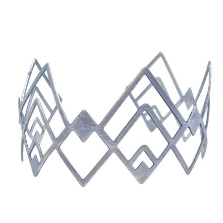 Bracelete Étnico prata velha